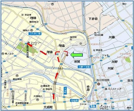 越谷営業所・地図